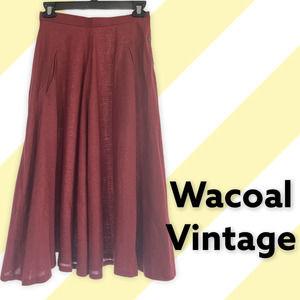 VINTAGE Wacoal Linen Skirt, XXS